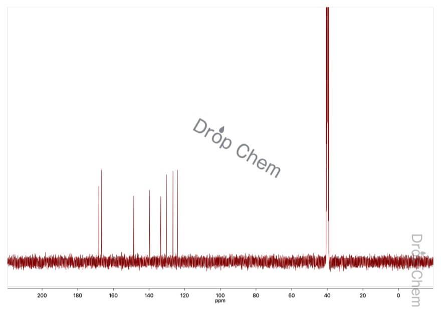 4-ニトロフタル酸無水物の13CNMRスペクトル