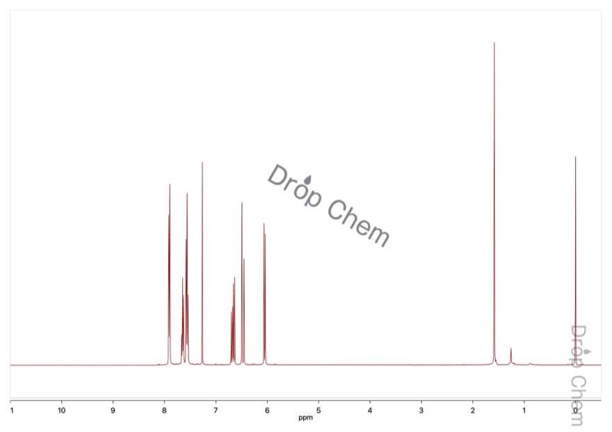 フェニルビニルスルホンの1HNMRスペクトル