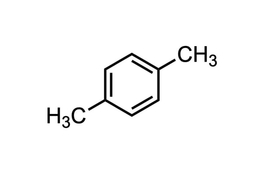 p-キシレンの構造式