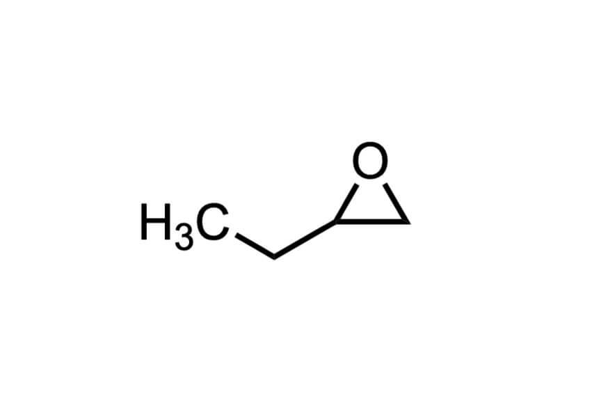 1,2-ブチレンオキシドの構造式