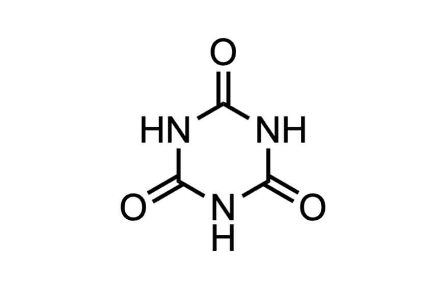 シアヌル酸の構造式