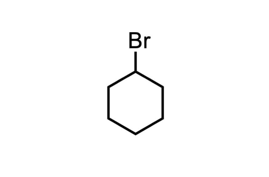 ブロモシクロヘキサンの構造式