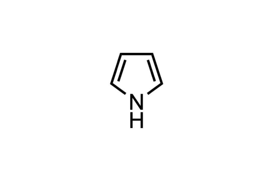 ピロールの構造式