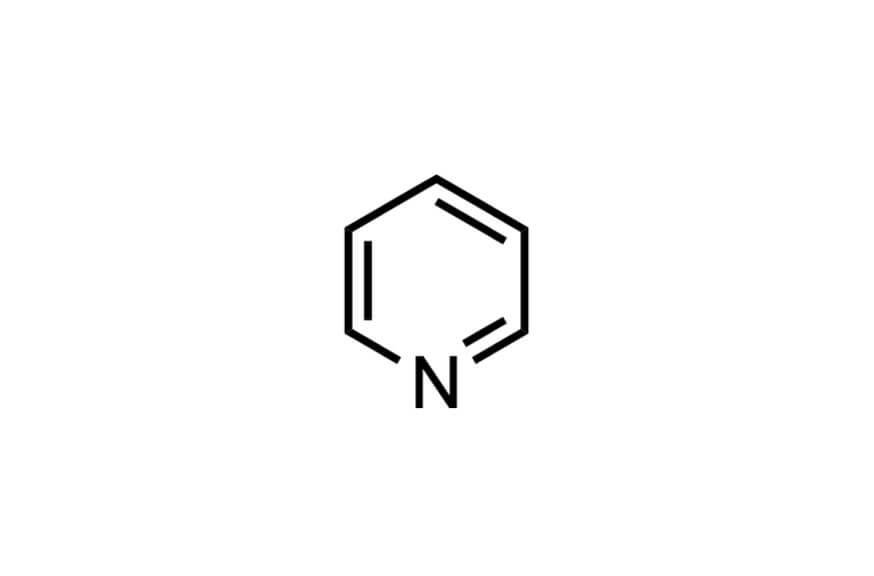 ピリジンの構造式