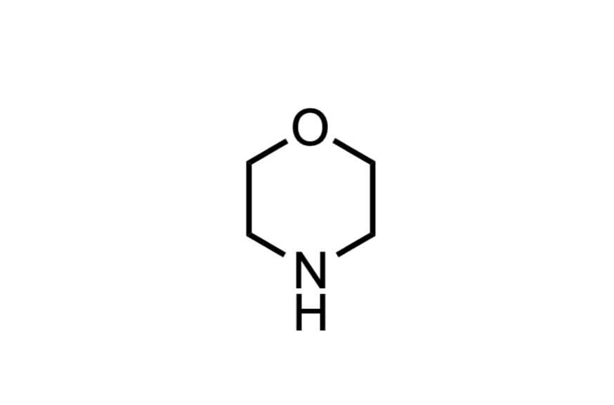 モルホリンの構造式