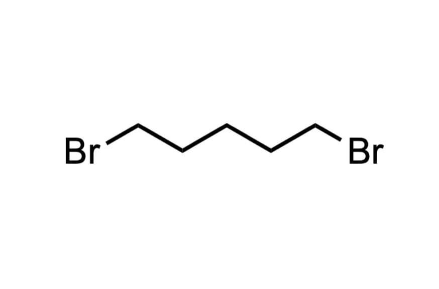 ペンタメチレンブロミドの構造式