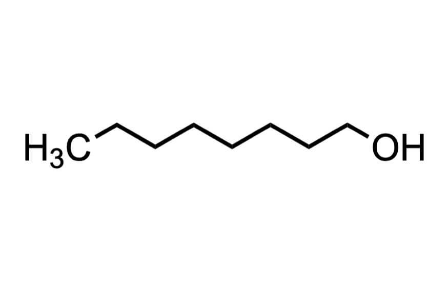 1-オクタノールの構造式
