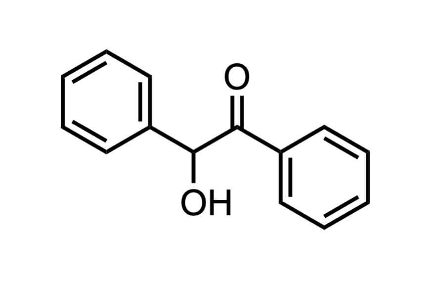ベンゾインの構造式