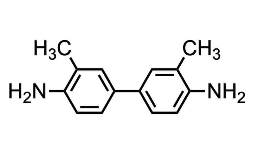 o-トリジンの構造式