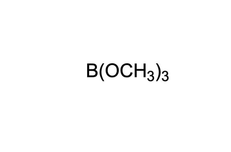 ほう酸トリメチルの構造式