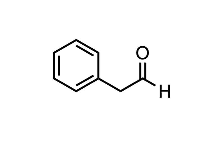 フェニルアセトアルデヒドの1HNMRスペクトル