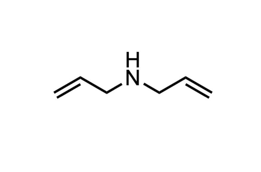 ジアリルアミンの構造式