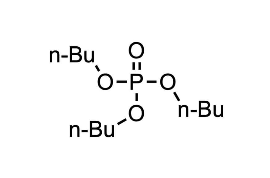 りん酸トリブチルの構造式