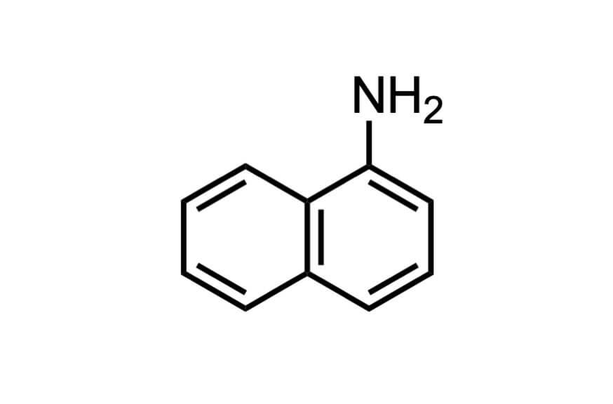 1-ナフチルアミンの構造式
