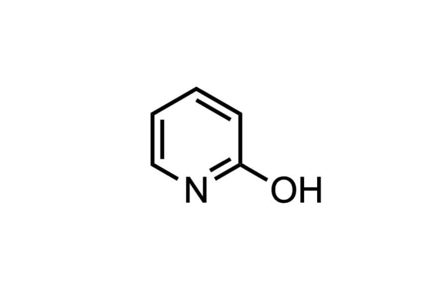 2-ヒドロキシピリジンの構造式