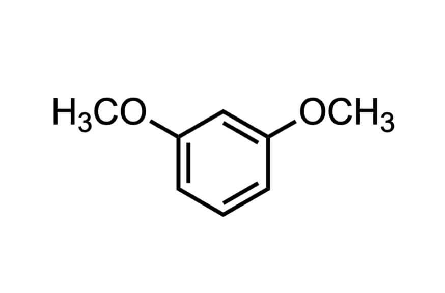 1,3-ジメトキシベンゼンの構造式