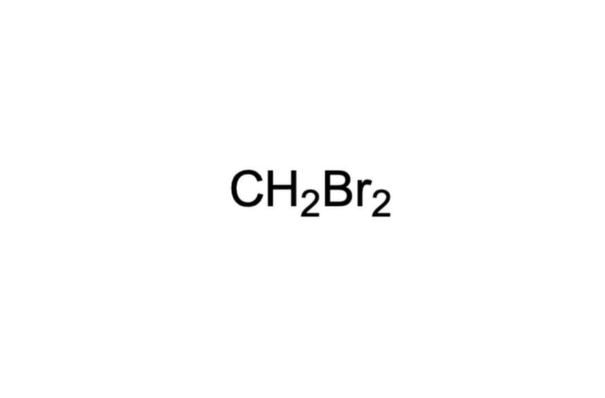 ジブロモメタンの構造式