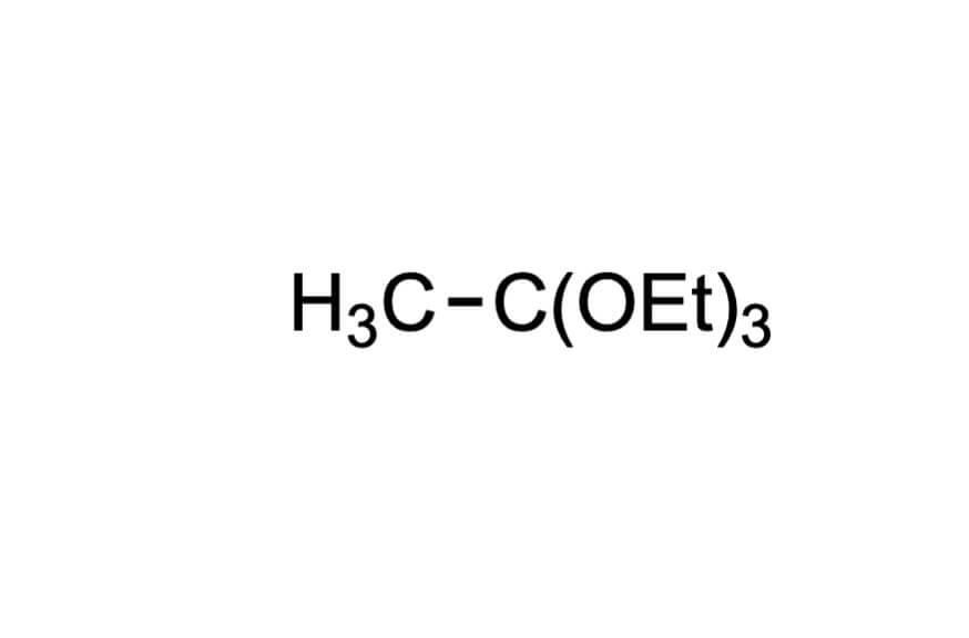 オルト酢酸トリエチルの構造式