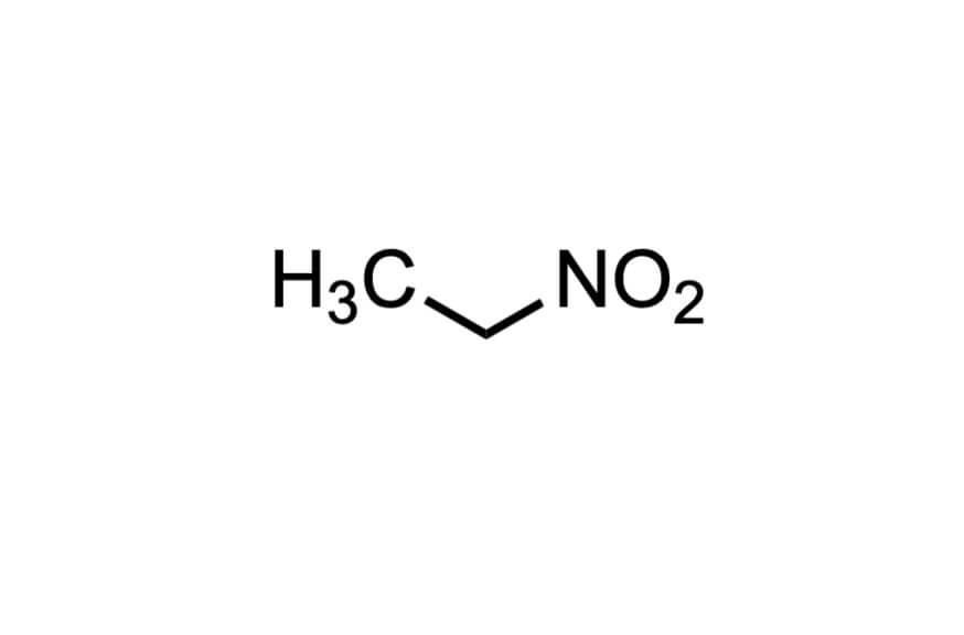 ニトロエタンの構造式