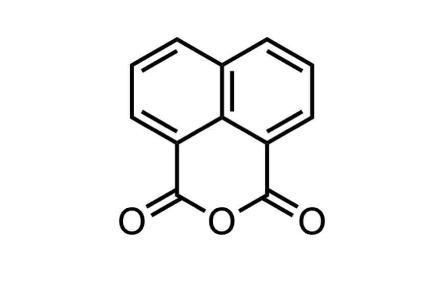 1,8-ナフタル酸無水物の構造式