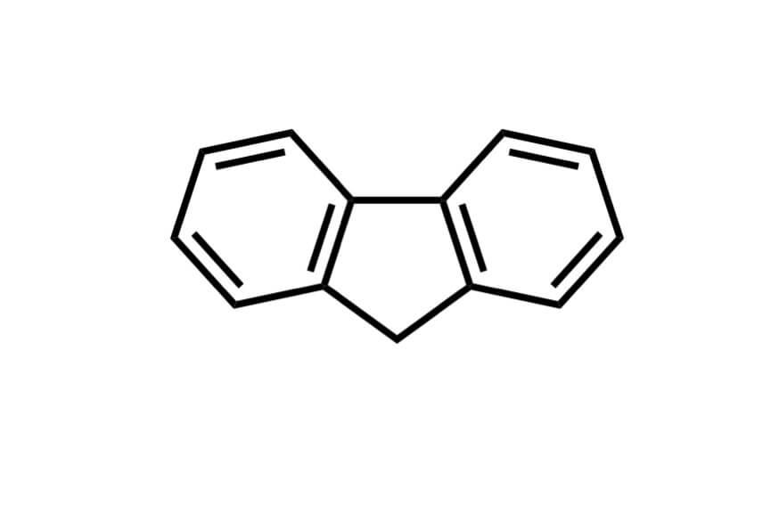 フルオレンの構造式