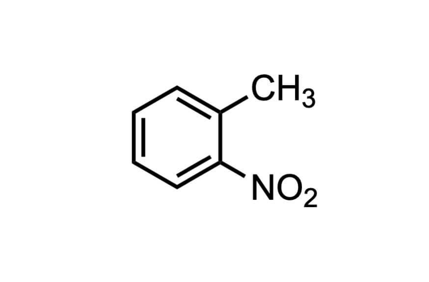 2-ニトロトルエンの構造式