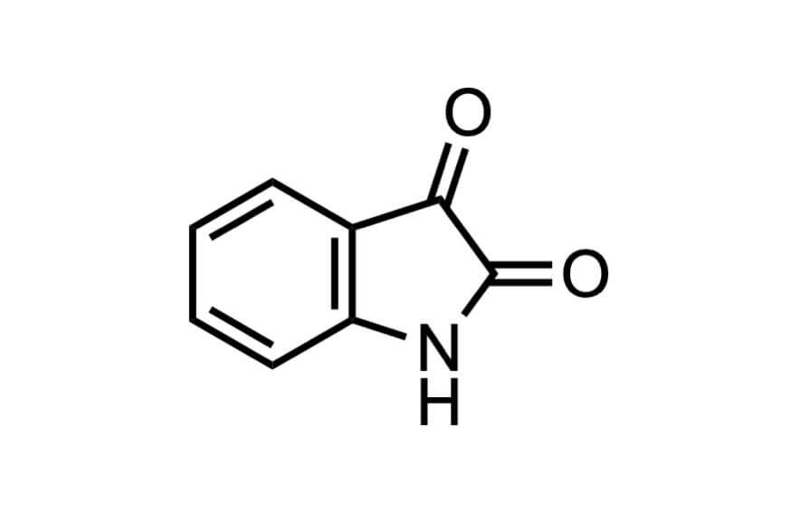 イサチンの構造式