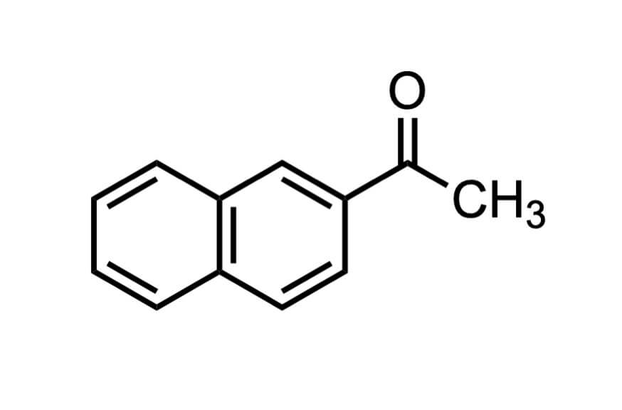 2'-アセトナフトンの構造式