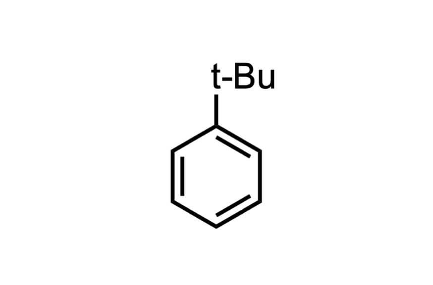 tert-ブチルベンゼンの構造式