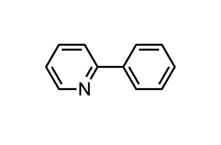 2-フェニルピリジンの構造式