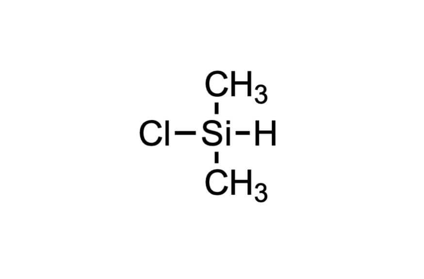 クロロジメチルシランの構造式