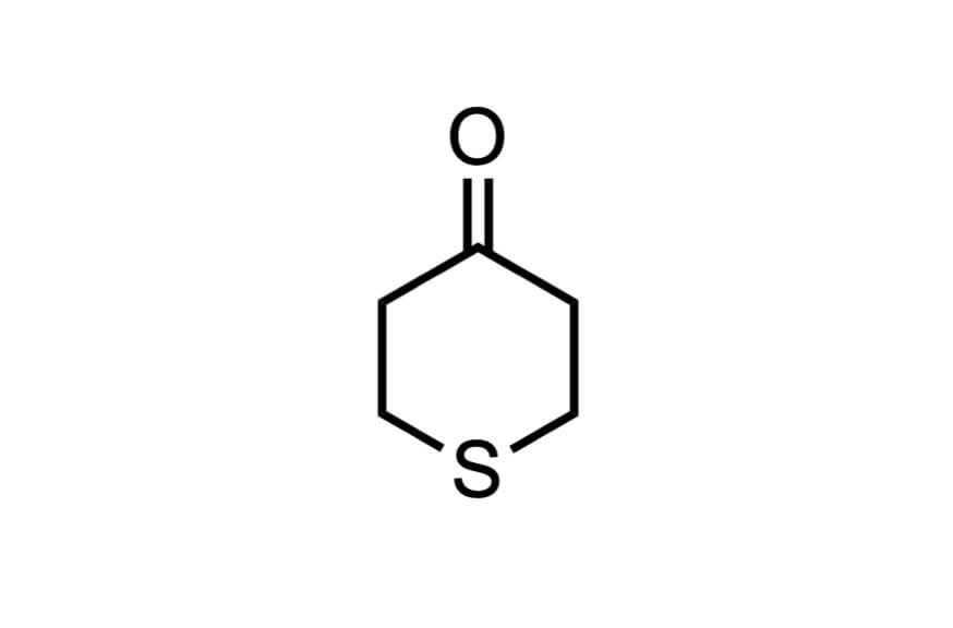 4-オキソチアンの構造式