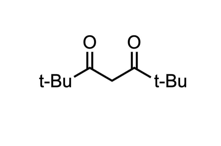 ジピバロイルメタンの構造式