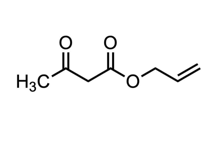 アセト酢酸アリルの構造式