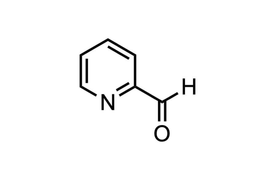 2-ピリジンカルボキシアルデヒドの構造式