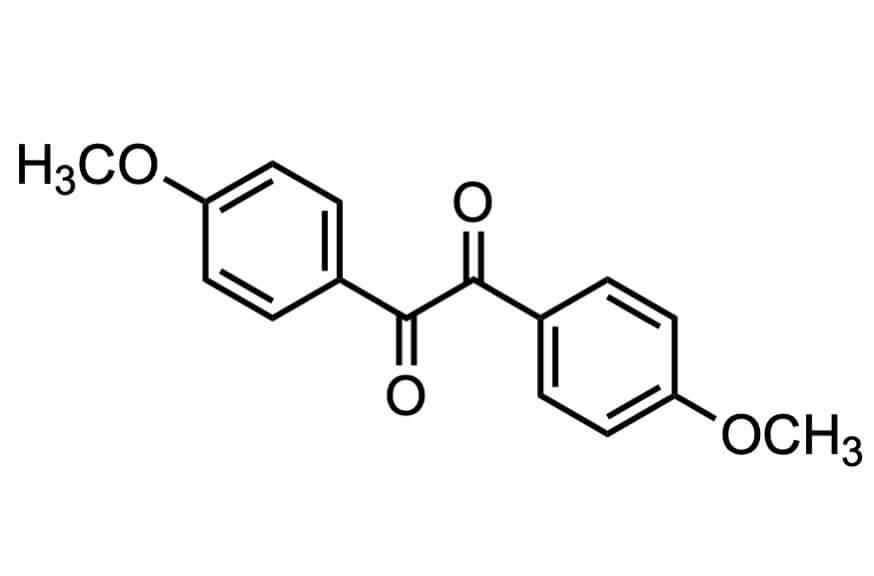 p-アニシルの構造式