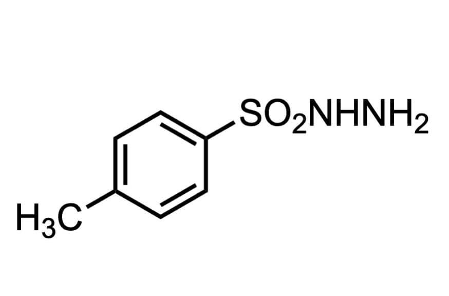 p-トルエンスルホニルヒドラジドの構造式