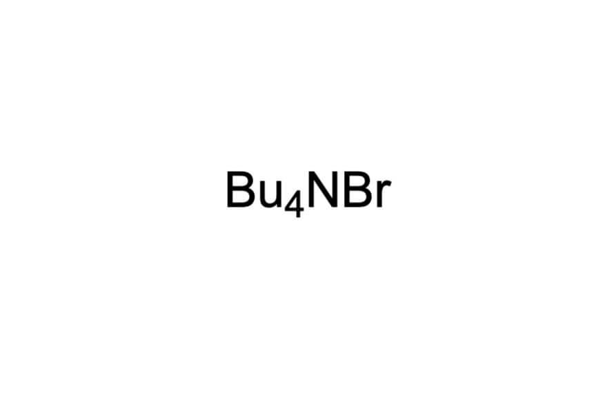 テトラブチルアンモニウムブロミドの構造式
