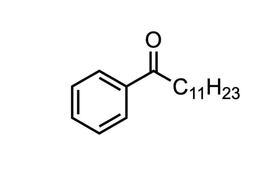 ドデカノフェノンの構造式