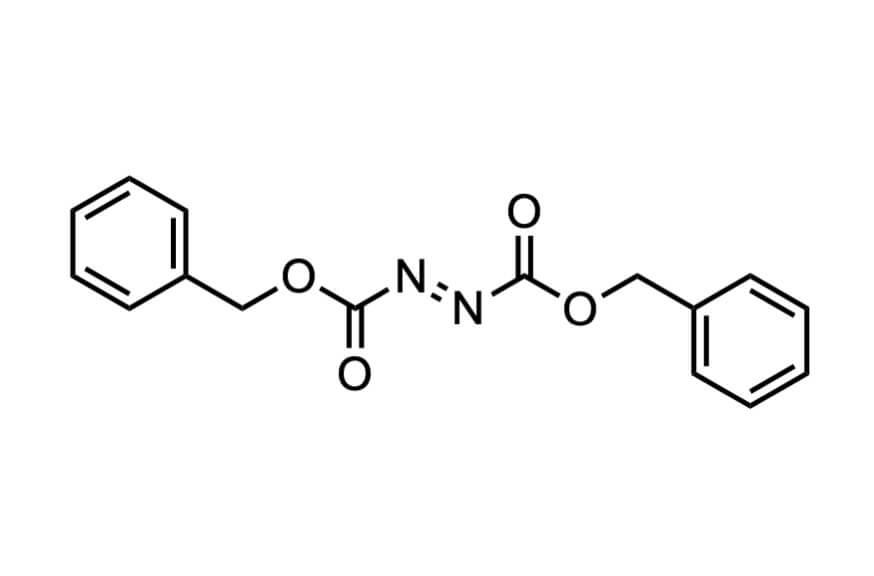アゾジカルボン酸ジベンジルの構造式