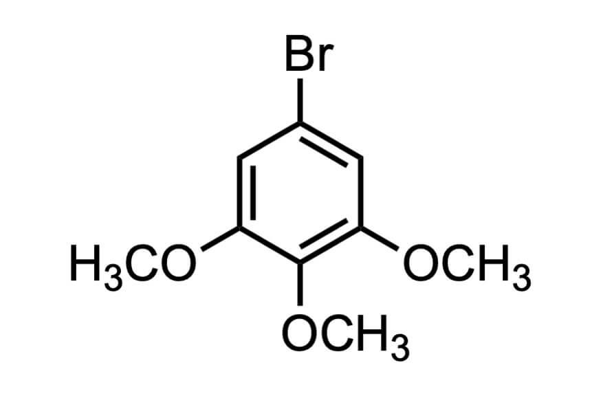 5-ブロモ-1,2,3-トリメトキシベンゼンの構造式