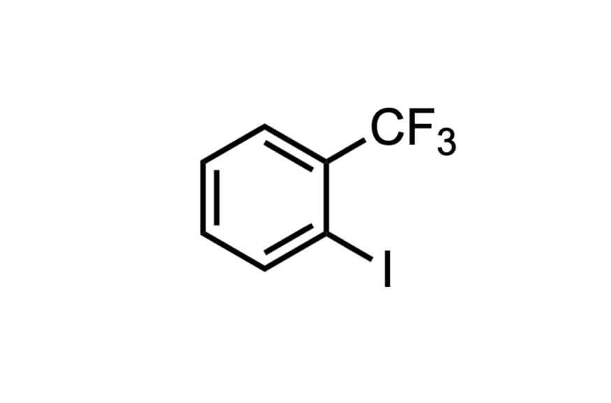2-ヨードベンゾトリフルオリドの構造式