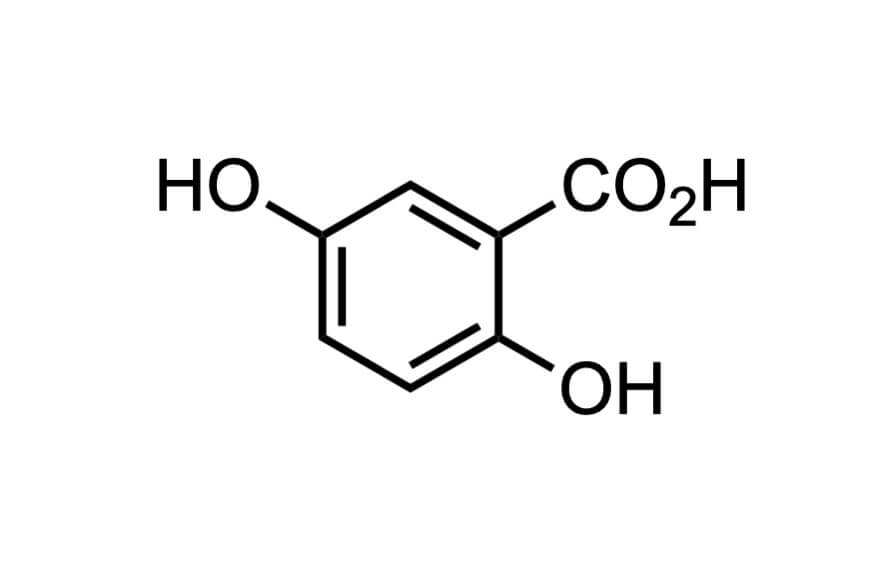 2,5-ジヒドロキシ安息香酸