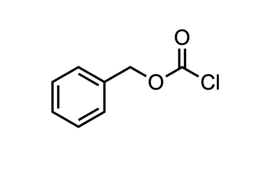 クロロぎ酸ベンジルの構造式