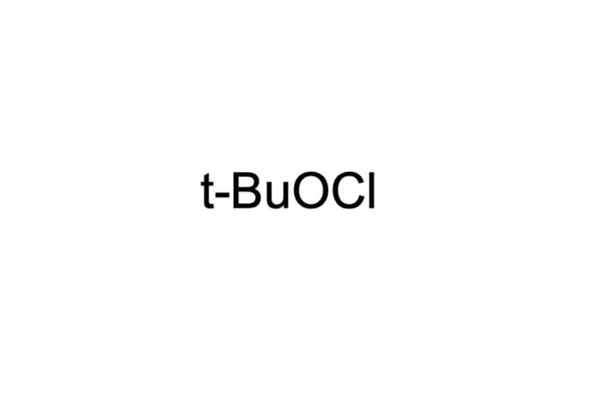 次亜塩素酸tert-ブチルの構造式