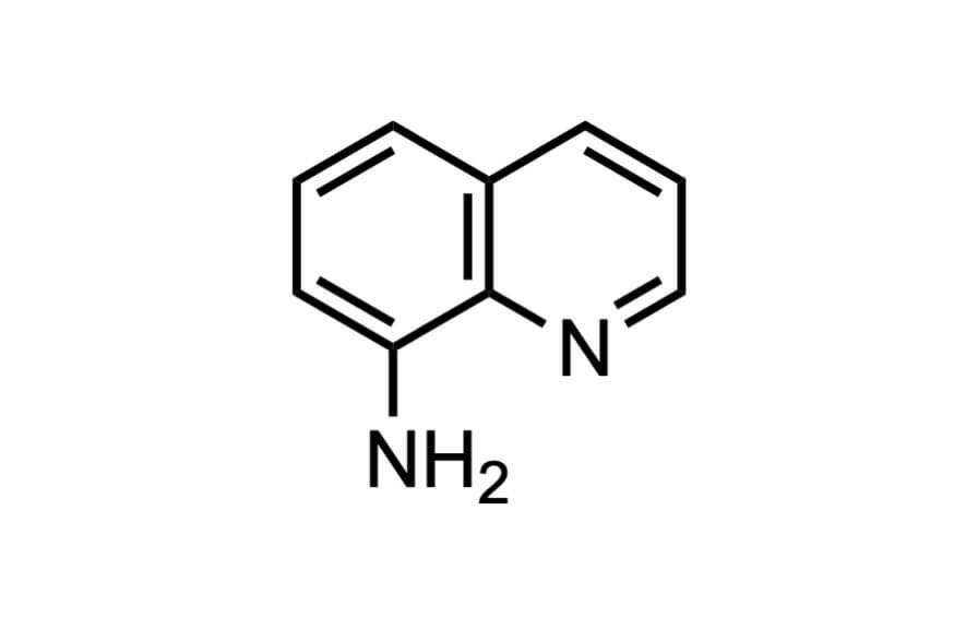 8-アミノキノリンの構造式