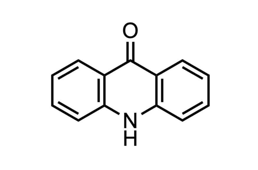 9(10H)-アクリドンの構造式