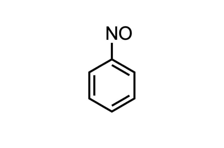 ニトロソベンゼンの構造式