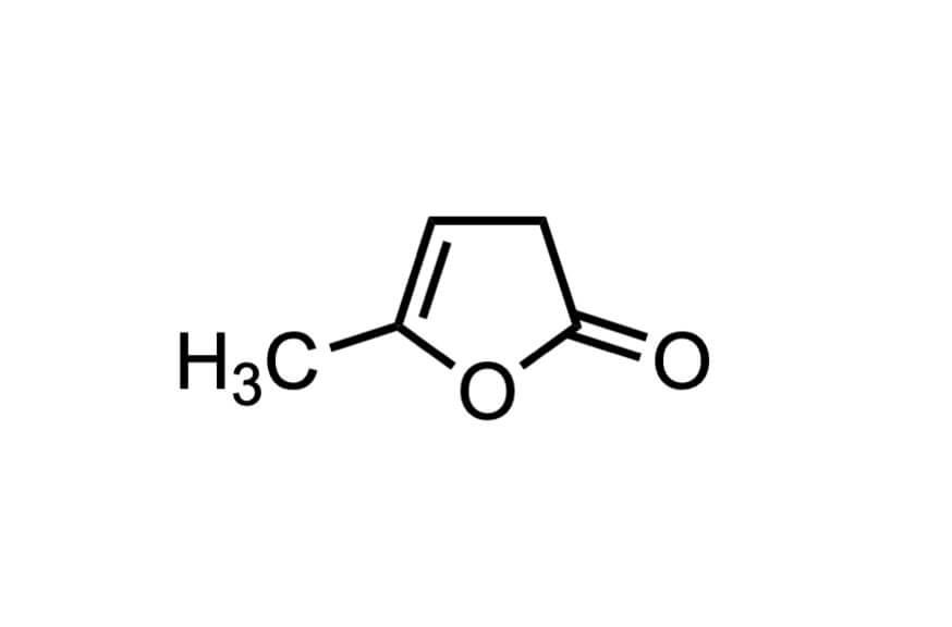 α-アンゲリカラクトンの構造式