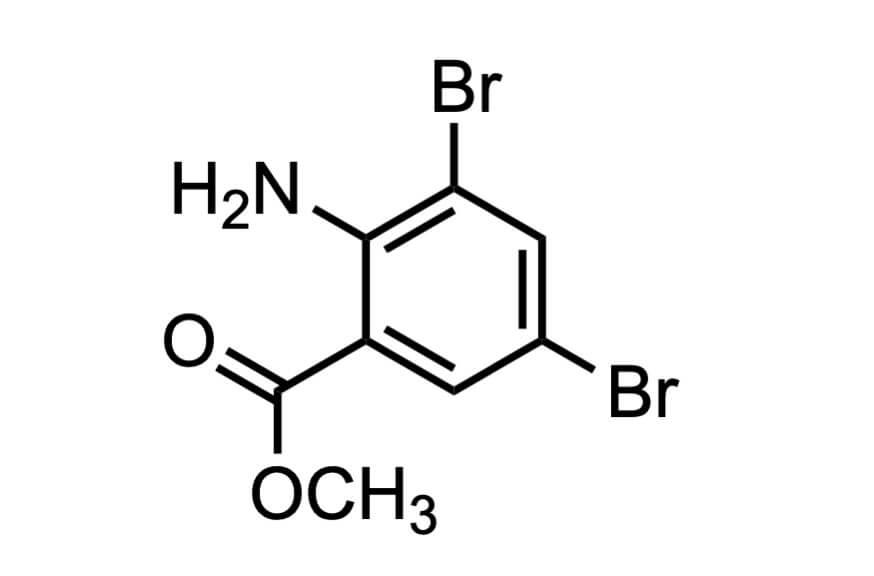 3,5-ジブロモアントラニル酸メチル
